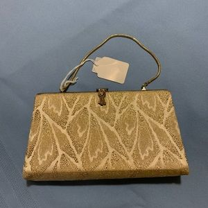 Gold Clasp Evening Bag